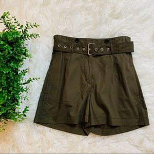 Phillip Lim 3.1 Cargo High Waisted Army Green 4